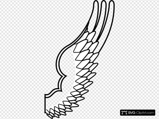 Wing SVG Clipart