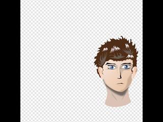 Cartoon Male Head