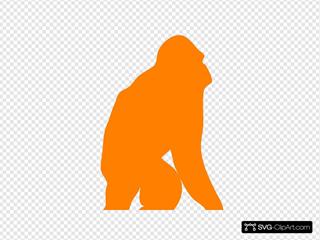 Orange Orangutan