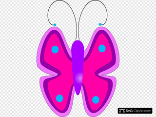 Butterfly SVG icons