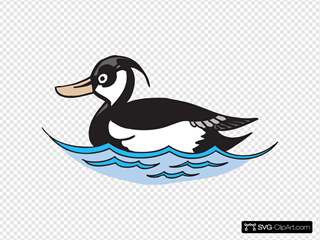 Duck With Waves