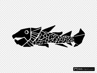 Woodcut Fish