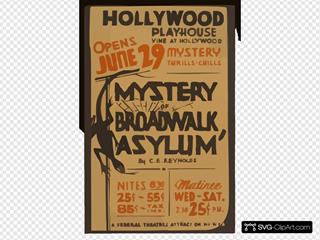Mystery Of Broadwalk Asylum  By C.e. Reynolds