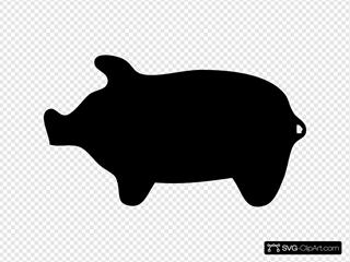 Piggie Silhouette
