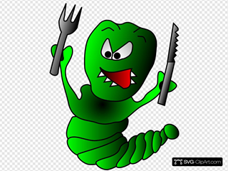Caterpillar SVG Clipart