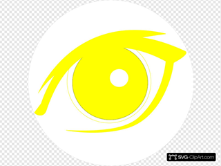Yellow Eye Icon