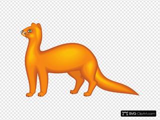 Orange Mink