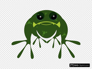 Frog 3 SVG Cliparts