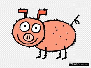 Diseased Looking Pig