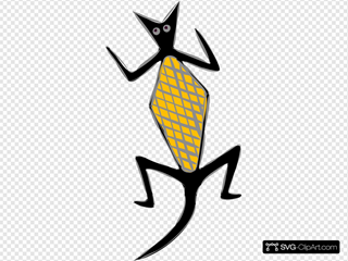 Lizard SVG Cliparts