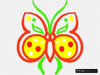 Farfalla Stilizzata