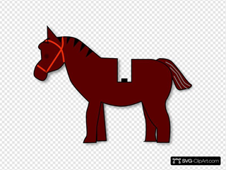 Horse Lego SVG Cliparts