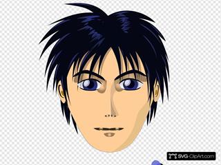 Adult Person Anime Cartoon Head
