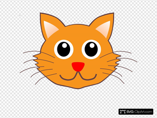 Cartoon Kitty Face