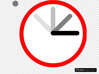 Ticking Clock Frame 1