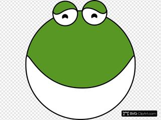 Frog 6 SVG Clipart