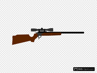 Huting Rifle With Scope