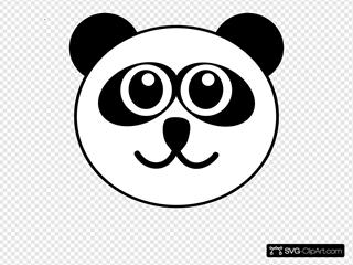 Panda Face