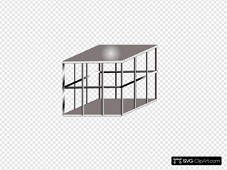 Metal Cage SVG Cliparts