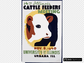 14th Illinois Cattle Feeders Meeting Nov. 8, 1940, University Of Illinois, Urbana, Ill.