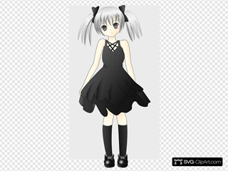 Girl With Silver Hair