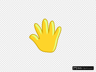 Hand Move SVG Clipart