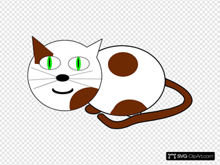 Sitting Cat SVG Clipart