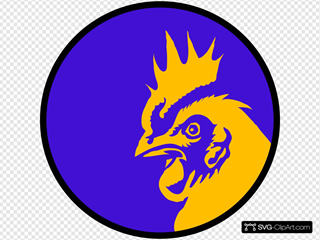 Rooster Head Circle