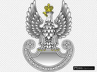 Eagle Symbol Wings Clipart