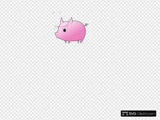 Pig 16 Clipart