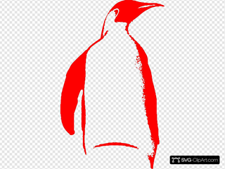 Tux Penguin 2 SVG Cliparts