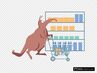 Shopping Aardvark