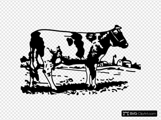 Cow SVG Clipart