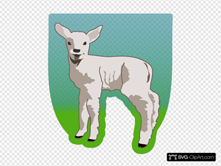 Small Sheep SVG Cliparts