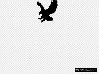 Eagle 3 SVG Clipart