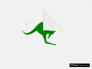 Kangaroo Green Icon