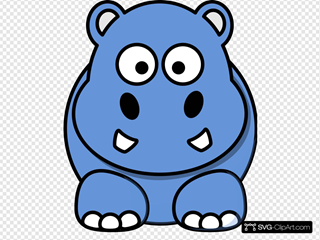 Blue Hippo Animated