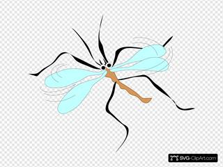 Cartoon Mosquito