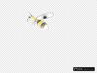 Bee SVG Clipart