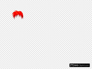 Anime Hair Red