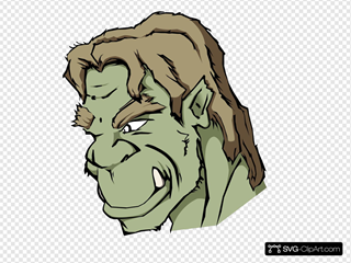 Orc SVG Clipart