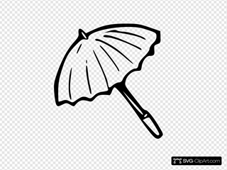 Umbrella Outline