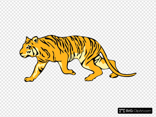 Tigre05 SVG Cliparts