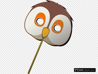 Owl Mask SVG Cliparts