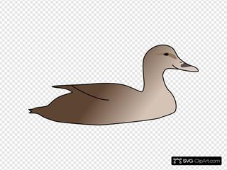 Duck SVG Clipart