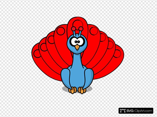 Peacock SVG Clipart