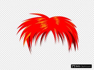 Anime Hair Red