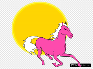 Horse#1 Clipart