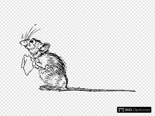 Sad Mouse Clipart