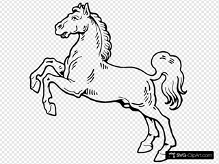 White Horse SVG icons